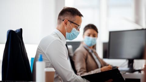 Preventing COVID-19 Spread at Work