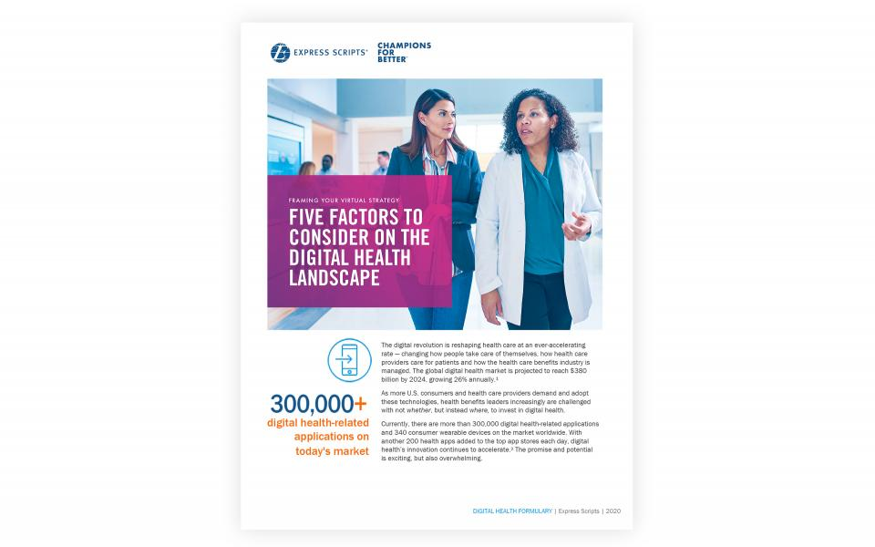 Digital Health Landscape Report
